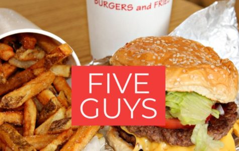 Five Guys. Started in 1986, is a fast-food chain, famous for their burgers and fries.