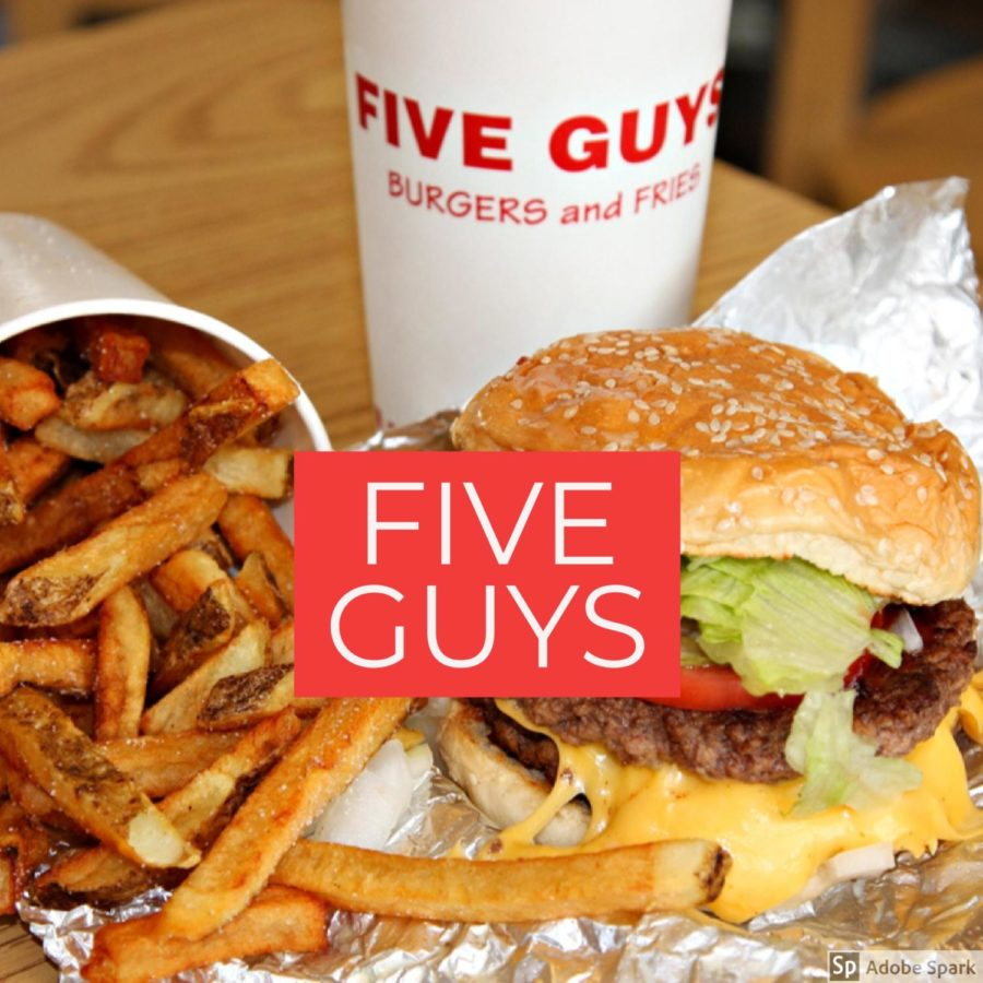 Five+Guys.%0AStarted+in+1986%2C+is+a+fast-food+chain%2C+famous+for+their+burgers+and+fries.++