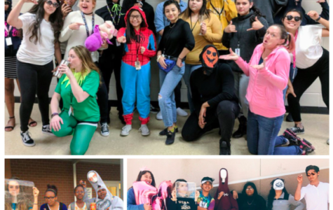 Let's have fun! More dress themed days should be provided to AAJHS students.