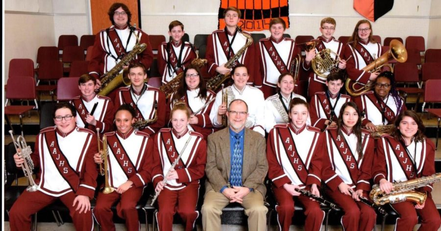 AAJHS. In late January, certain members of the junior high varsity concert band got to participate in county band.