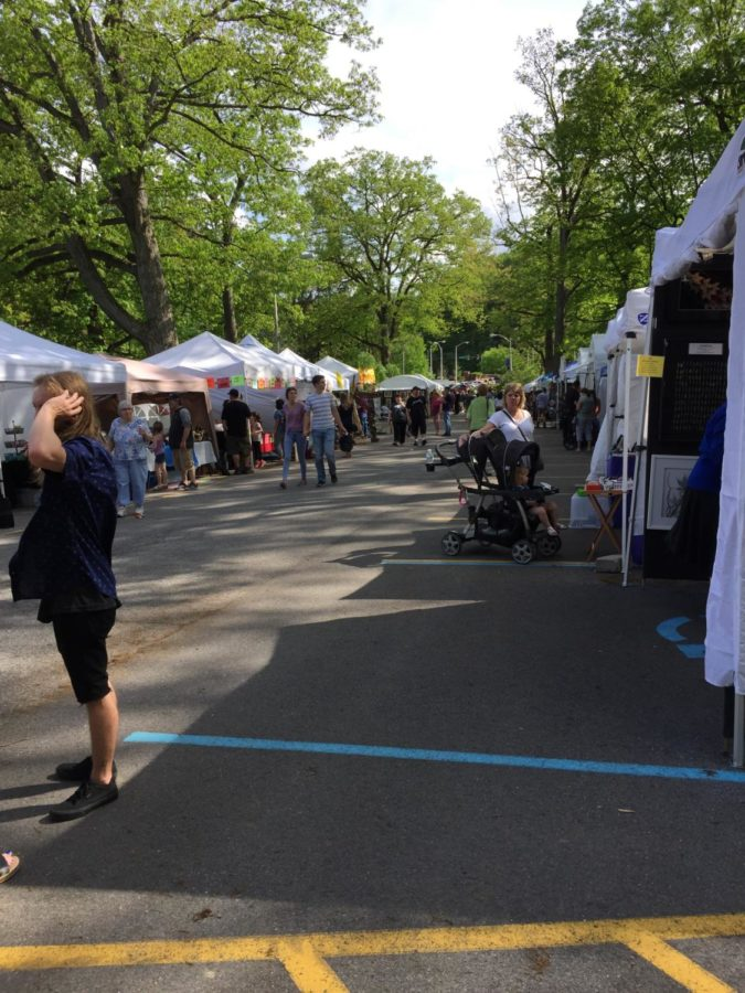Spend your money. At Penn State Altoona, the 2018 Arts Festival was held from May 19 to May 20.