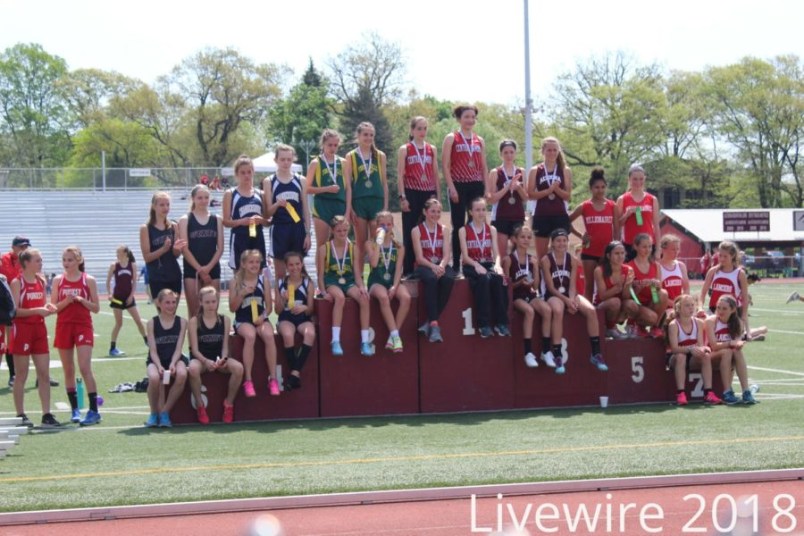 We+placed%21+The+Altoona+girls+4x8+rushed+at+their+meet.+The+girls+won+and+got+third+place.