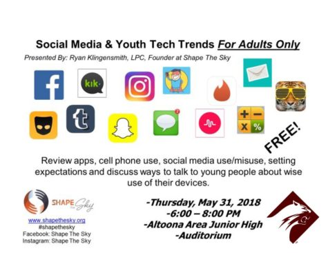 Altoona hosts social media awareness seminar for parents May 31