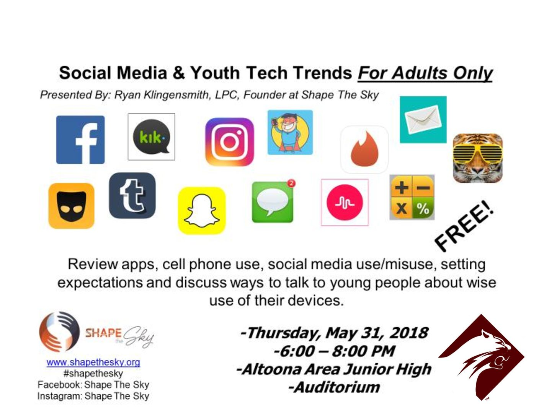 Altoona hosts social media awareness seminar for parents May 31