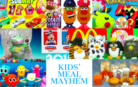 Toys. This week's, and my final blog on LiveWire, is about the top five kids' meal toys.