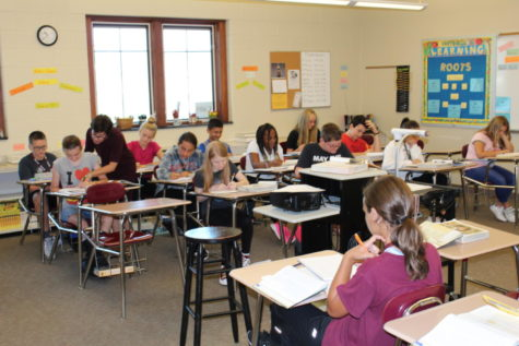 Seventh-eighth grade classrooms