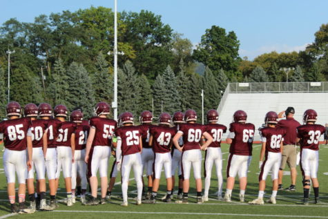 Freshman football team finishes undefeated