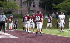 JV eighth grade maroon football game