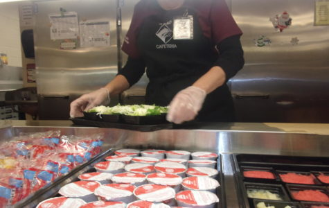 Lunch ladies in action!