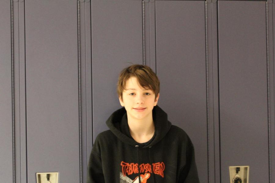Yeah, Im looking foward to doing wood work in tech. ed, eighth grader Maddox Blake-Wilinski said.
