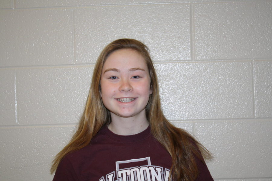 Yes and to make new friends, meet new people, ninth grader Emma Skelley said.