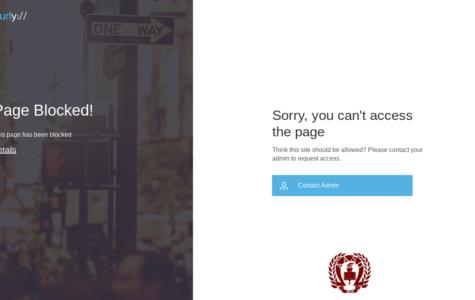Securly blocks unnecessary sites
