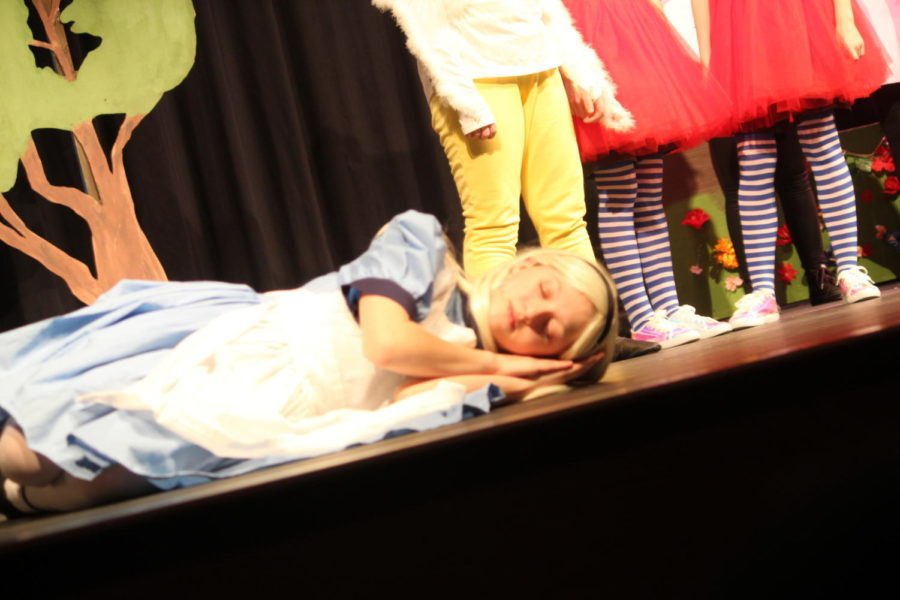 Sleepy%21%0AParker+Cook+lies+on+a+field+of+flowers+and+falls+asleep.++The+junior+high+drama+club+participated+in+an+%22Alice+in+Wonderland+Jr.%22+play+from+March+1+to+March+2.