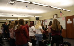 Students sing their way to upcoming chorus concert