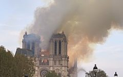 A burning cathedral, a loss of history, a lack of conversation