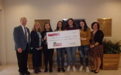 The school was able to reach over a $7600 donation from Martins for the A+ school rewards program.