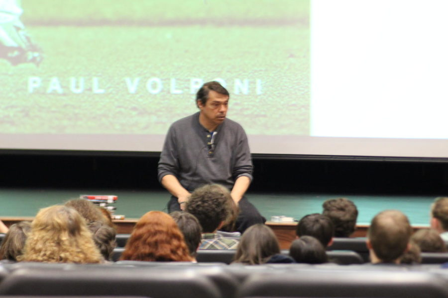 Author Paul Volponi inspires young writers