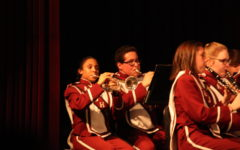 Eighth and ninth grade band spring concert