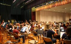 Ninth, eighth grade orchestra performs in concert