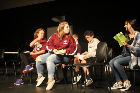 Fall play scares students silly