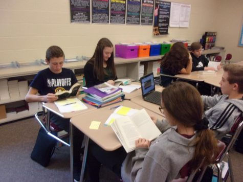 Readers workshop expands across junior high English department