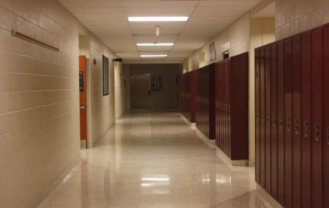 Halls at the junior high are empty for now as students continue online instruction. Governor Wolf announced April 9 school will not be back in session this school year.