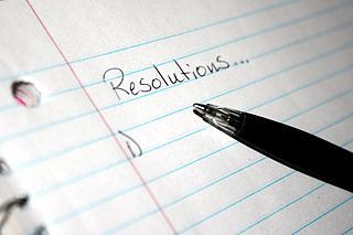 New Year's resolutions, possible or impossible?