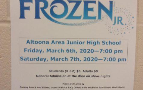 News Brief:  Frozen Jr. underway as spring musical