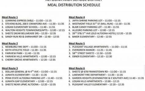 District updates plans for food distribution, backpack program