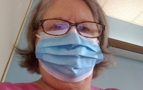 Grace Ritchey follows the new procedures due to the coronavirus. All medical workers have new protocols to prevent exposure to the virus.