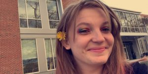"""""""The best part of the school year was going to Hollidaysburg for county band.  I feel sad because I don't get to see my friends,"""" ninth grader Emma Feigh said."""