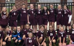 Team effort. This photo was taken after the Altoona seventh and eighth grade girls soccer team played their last game of the season.  They played Bedford and won 6-0. It was a fantastic way to end the season, said Alannah Irwin, one of the players on the undefeated team.