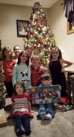 In recent years, all of the grandchildren celebrated together on Christmas Day. This will be the first year in awhile that everyone will not be in attendance.   Top row: Adalynn Bush,  Noah Bush and Sabrina Reighard. Middle row: Isabella Bush, Camden Bush and Sammy Reighard. Bottom row: Stella Reighard and Adler Reighard.
