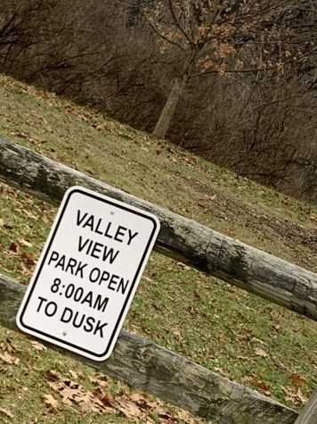 I arrived at Valley View Park frisbee golf course around 11:40 a.m. December 13.
