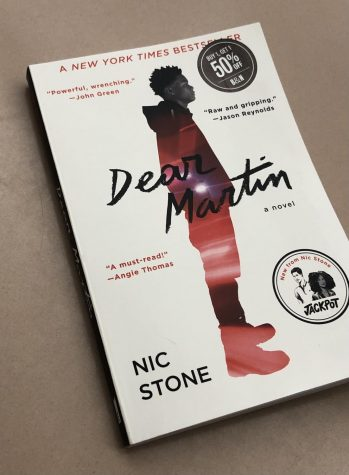 """Dear Martin"" written by Nic Stone discusses racial issues in today"