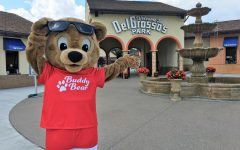 Summer excitement! DelGrosso's mascot, Buddy Bear, and park team are preparing for the 2021 summer season! The amusement park has over 30 rides and attractions!