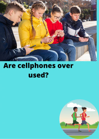 Teens' addiction to phones