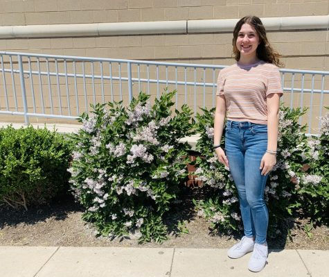 """""""Spending time with my friends and dancing in the studio,"""" eighth grader Rylie Keagy said."""