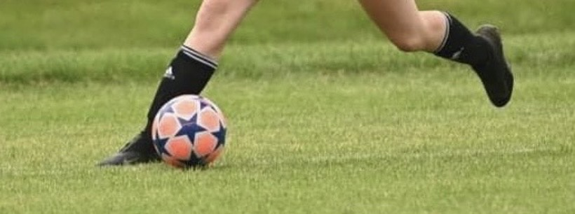 """Goal! Lia Sankey worked hard on improving her shot in soccer over quarantine. She said, """"I worked hard because I wanted to stay in shape for the upcoming track and soccer seasons."""""""